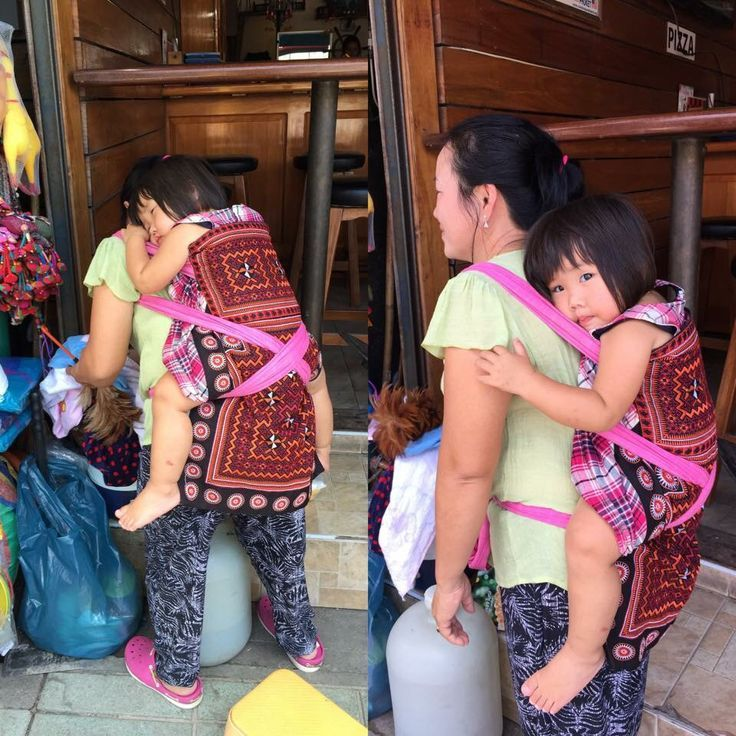 Thailand Modern Day Pod Wearing Babywearing Love Pinterest