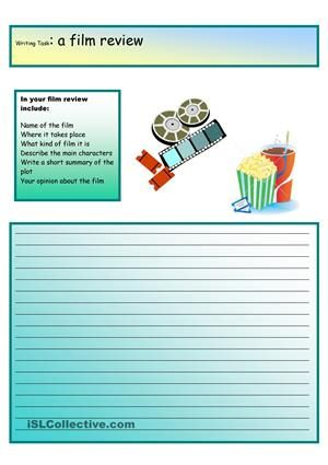 Creative Writing:A Film Review #12 A2 Level | English | Pinterest ...