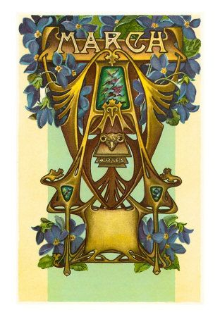 Art Nouveau March, Aries http://www.allposters.com/-sp/Art-Nouveau-March-Aries-Posters_i911568_.htm
