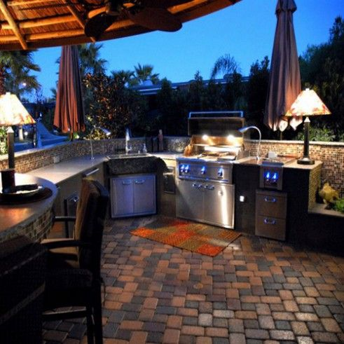 Perfect outdoor kitchen fabulous foods and related for Perfect outdoor kitchen
