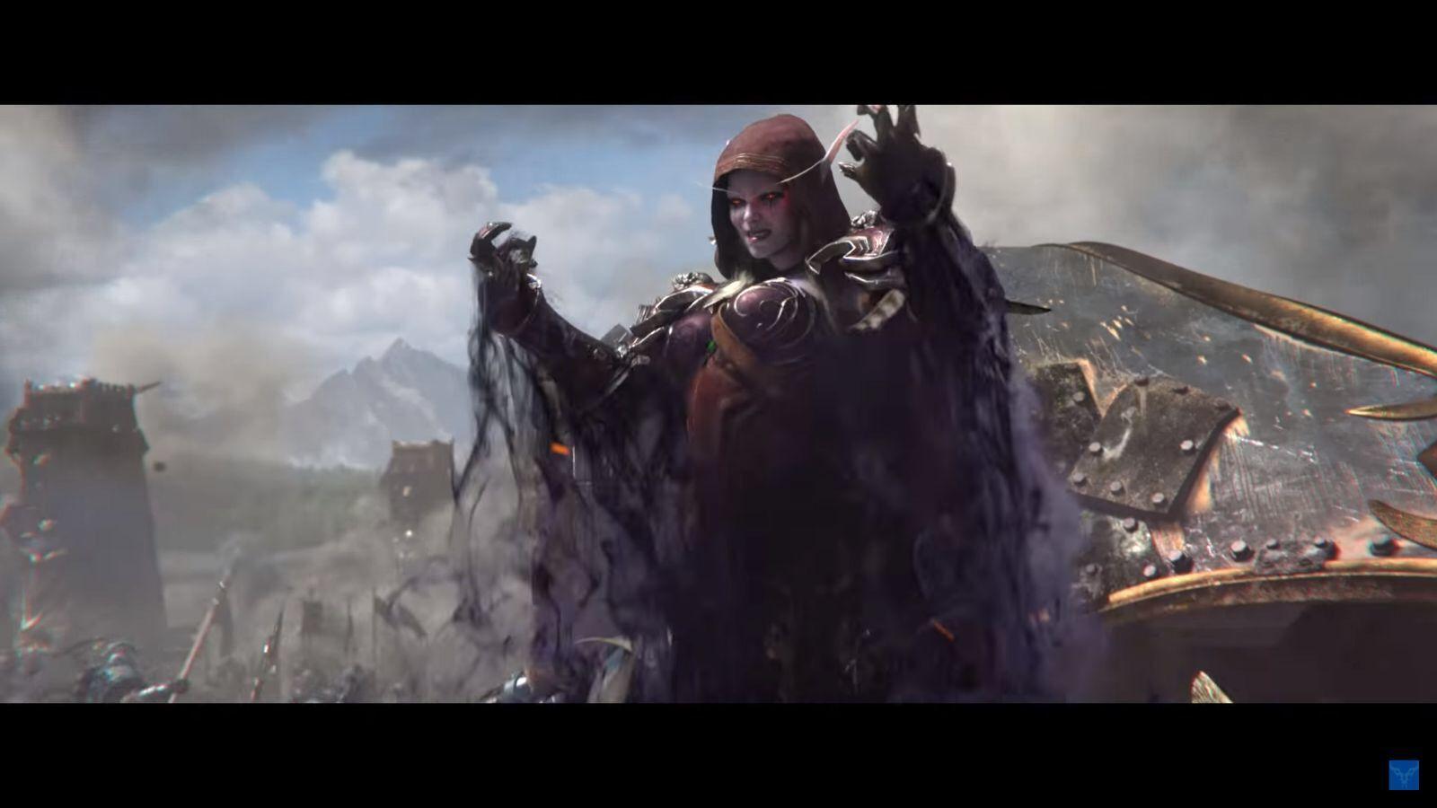 Battle For Azeroth Sylvanas Windrunner World Of Warcraft Azeroth