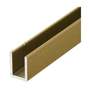 Crl Sdcd38abrs Antique Brass 3 8 Fixed Panel Shower Door Deep U Channel 95 In 2020 Shower Door Installation Shower Installation Glass Shower