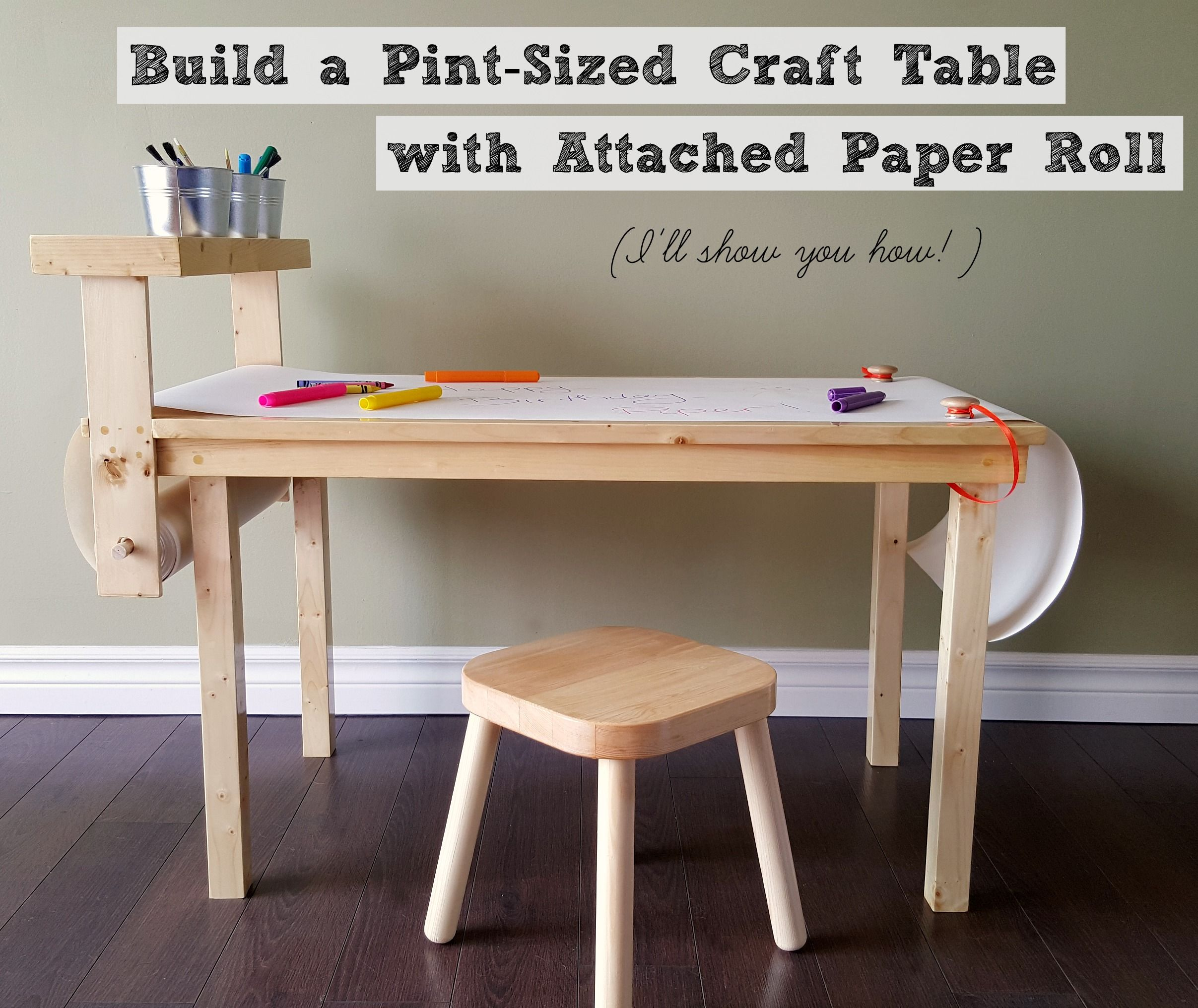 A Diy And Renovation Blog Featuring Building Decorating Crafts Food And Pretty Much Anything Else T Childrens Craft Table Craft Table Diy Kids Craft Tables