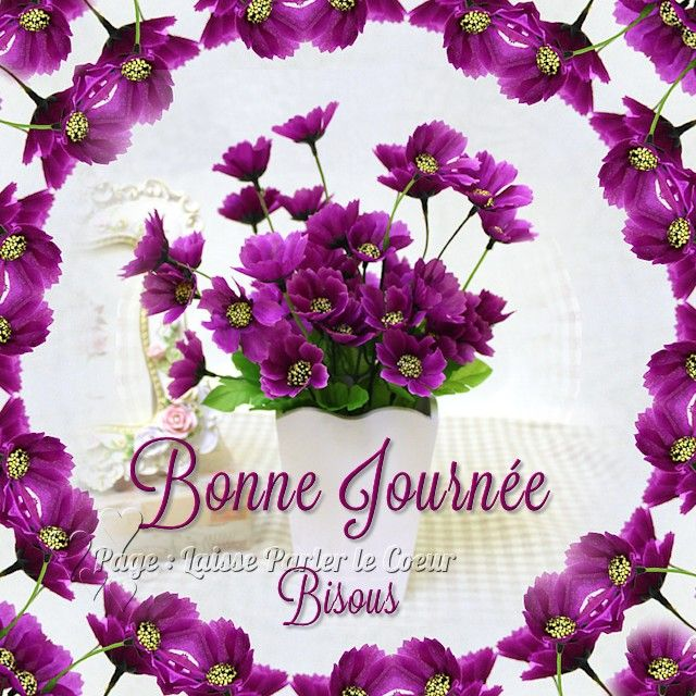 Good Morning In French Bon Matin : Bonne journée image images pinterest nice tes and