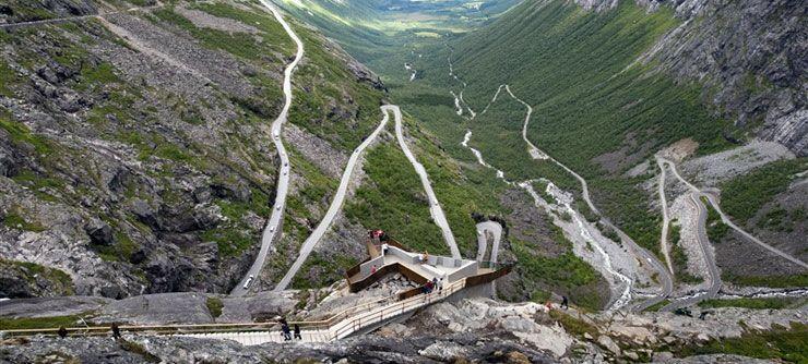 Bergsvägen Trollstigen Foto: Terje Borud/www.visitnorway.com