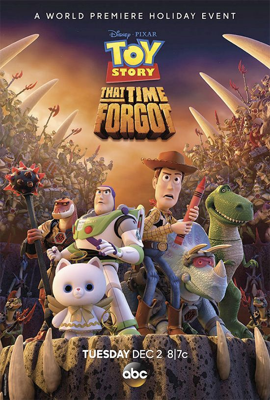 Toy Story That Time Forgot, un nuevo especial navideño que ABC / Woody, Buzz, Rex y Reptillus Maximus