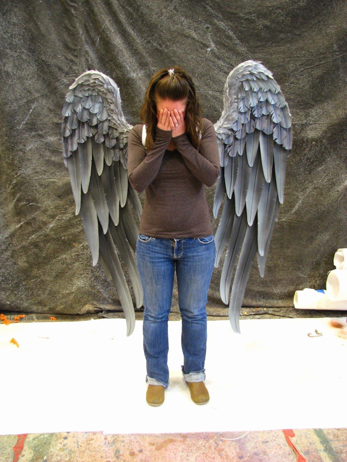 danielle hurley design TruWings Hawk Wings Weeping Angel ...