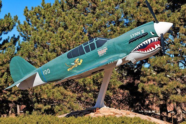 Peterson Air and Space Museum Debuts Restored P40 Display