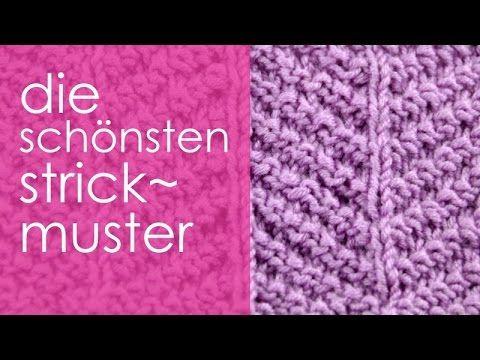 stricken mit elizzza strickmuster rechts links fischgrat knitting techniques pinterest. Black Bedroom Furniture Sets. Home Design Ideas