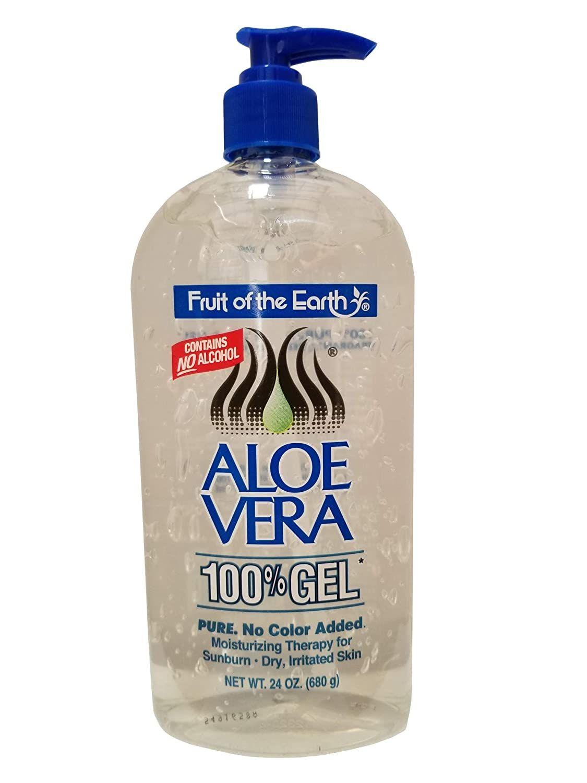 Fruit Of The Earth Aloe Vera 24oz Gel Pump 2 Pack In 2020 Organic Aloe Vera Gel Pure Aloe Vera Gel Aloe Vera