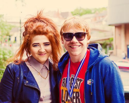 """My sister sings. She's in a band. It's my middle sister, Samantha. She's a ginger as well. We're the only two in the whole family. Neither of my parents are gingers. I have no idea where it came from. It's such a mystery."" -Rupert Grint"