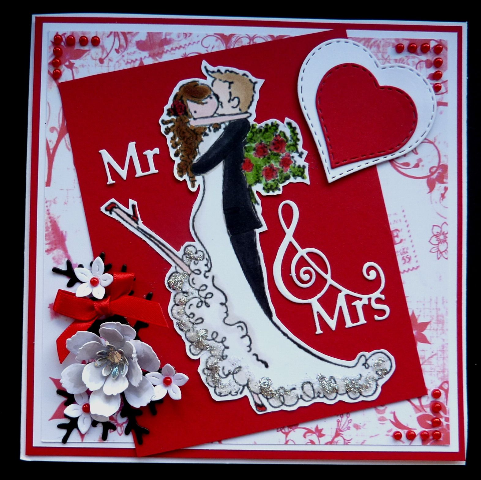 S216 Hand made Wedding card using Stampin Bella Brett & Brenda get ...
