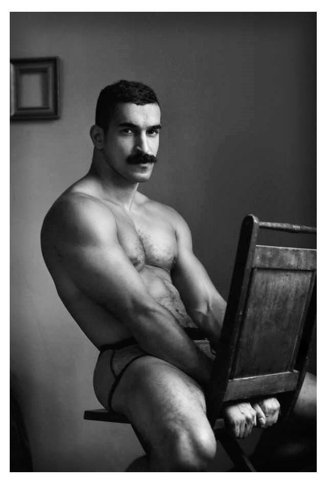 from Wilder gay moustached men
