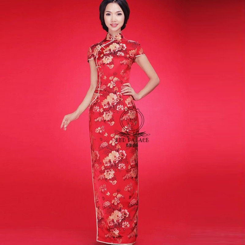1000  images about Wedding Qipao on Pinterest - Shops- Silk ...