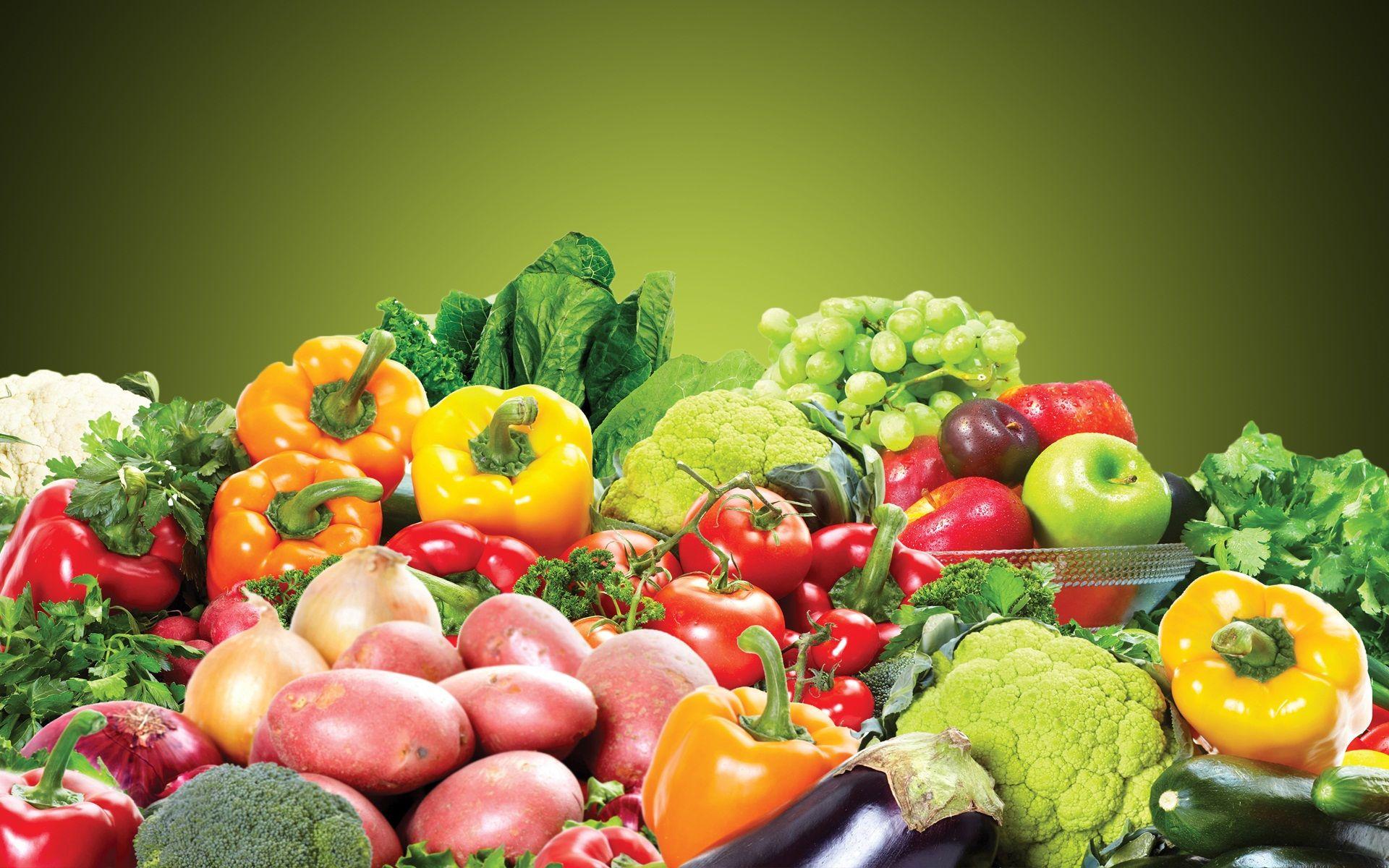 Fresh fruits and vegetable HD wallpaper Beautiful hd