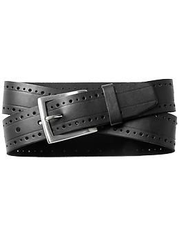 7 Hills Perforated Belt | Piperlime
