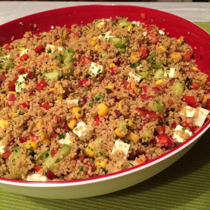 Photo of Couscous Salad à la Foe by sebbofoe | Chef