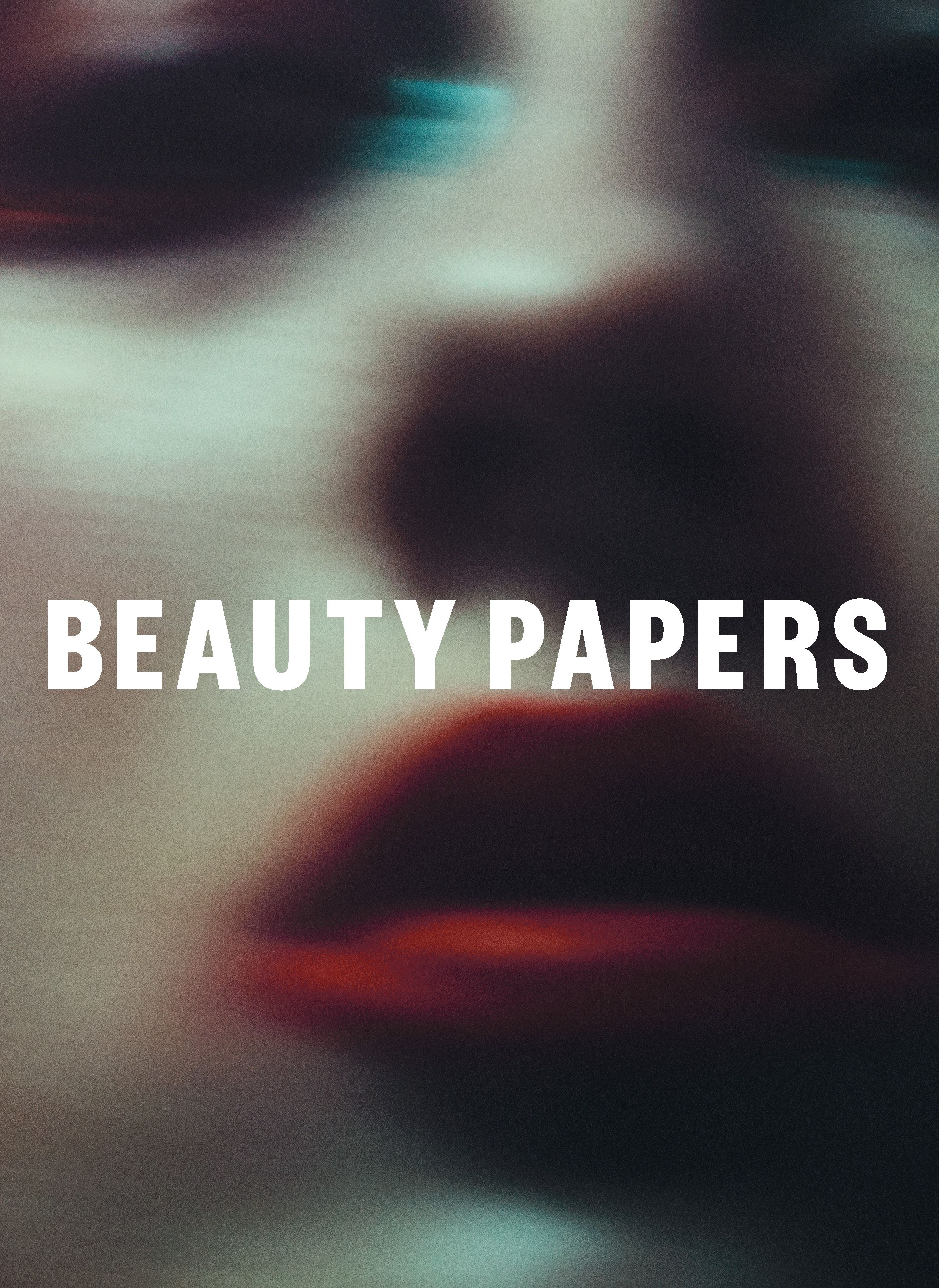 beauty papers issue three rory payne beauty papers covers