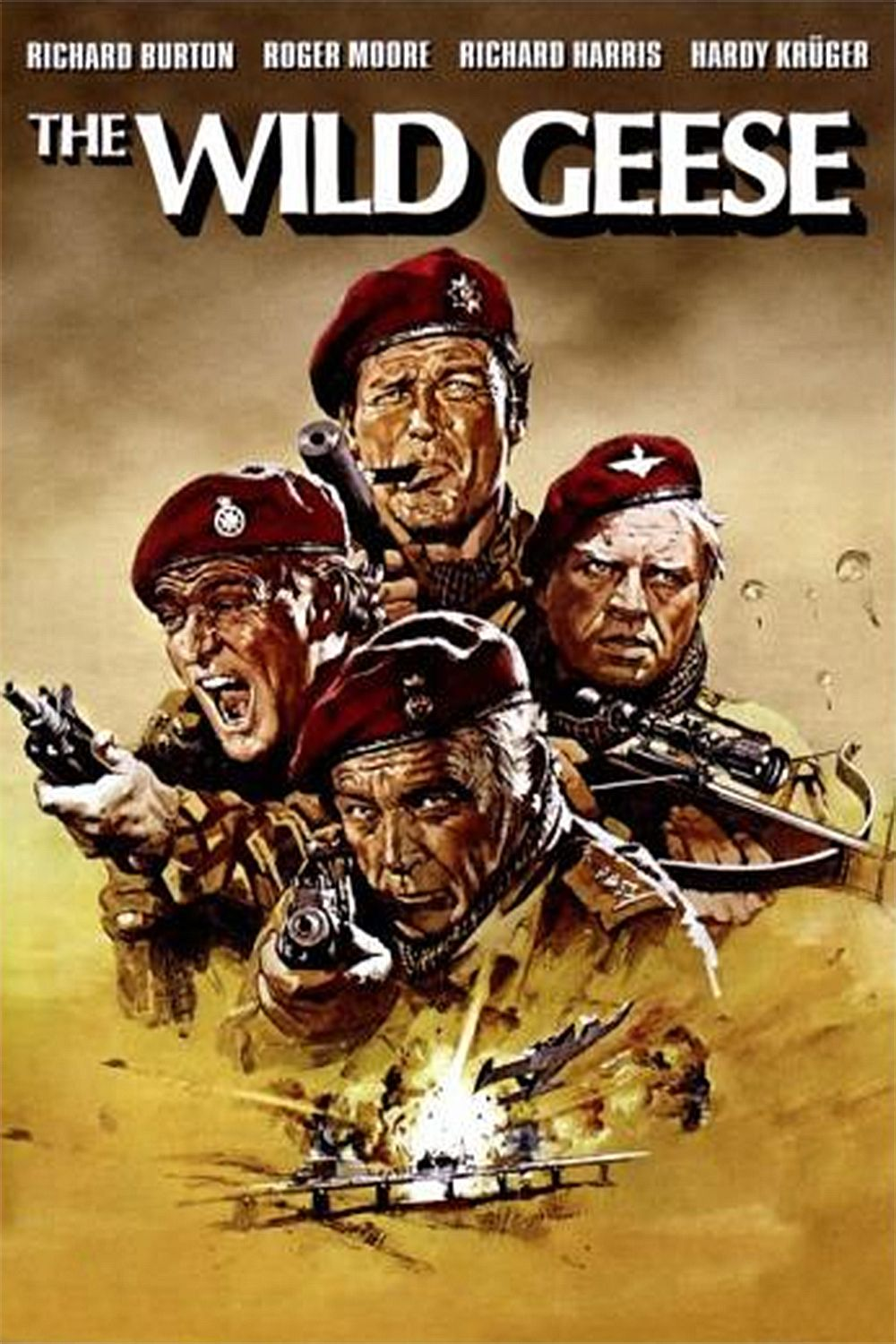 The Wild Geese movie trailer, cast, posters and hd wallpapers ...