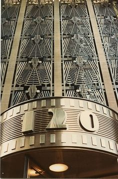 Cgmfindings Art Deco New York 120 Wall St A 1930 Building By Eli Jacques Kahns Firm The Urban League Has Its Offices Here As Did WBAI
