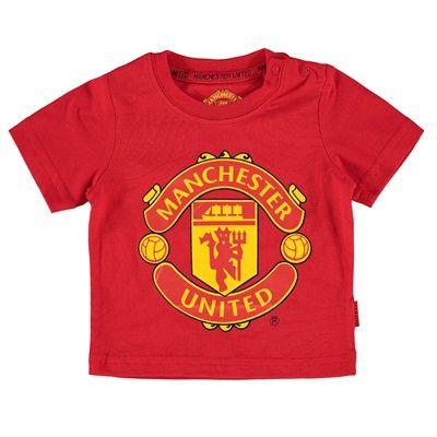 43ba76af6 Manchester United Essential Crest T-Shirt - Red - Baby