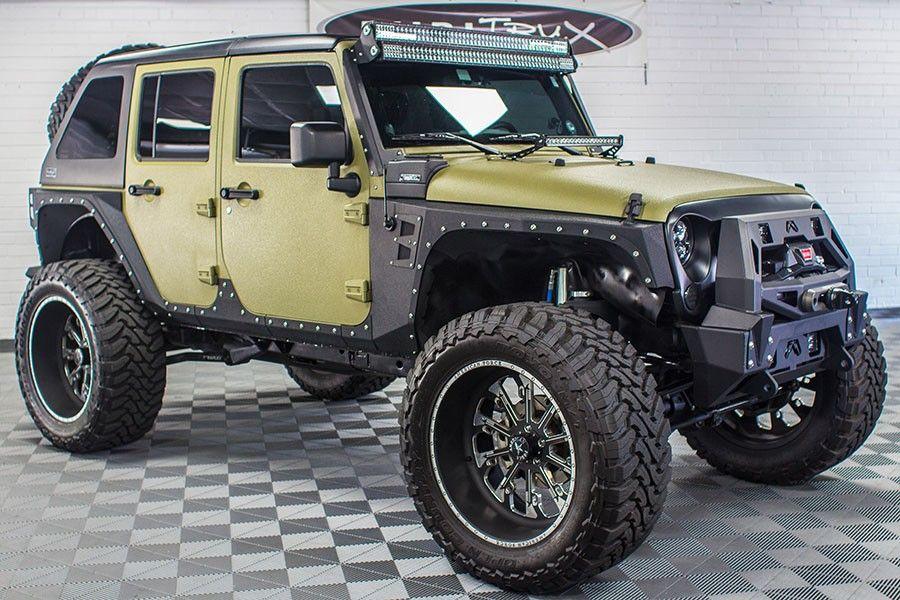 Pre Owned 2013 Custom Jeep Wrangler Unlimited Hemi Conversion Sold Jeep Wrangler Unlimited Custom Jeep Wrangler Custom Jeep Wrangler Unlimited