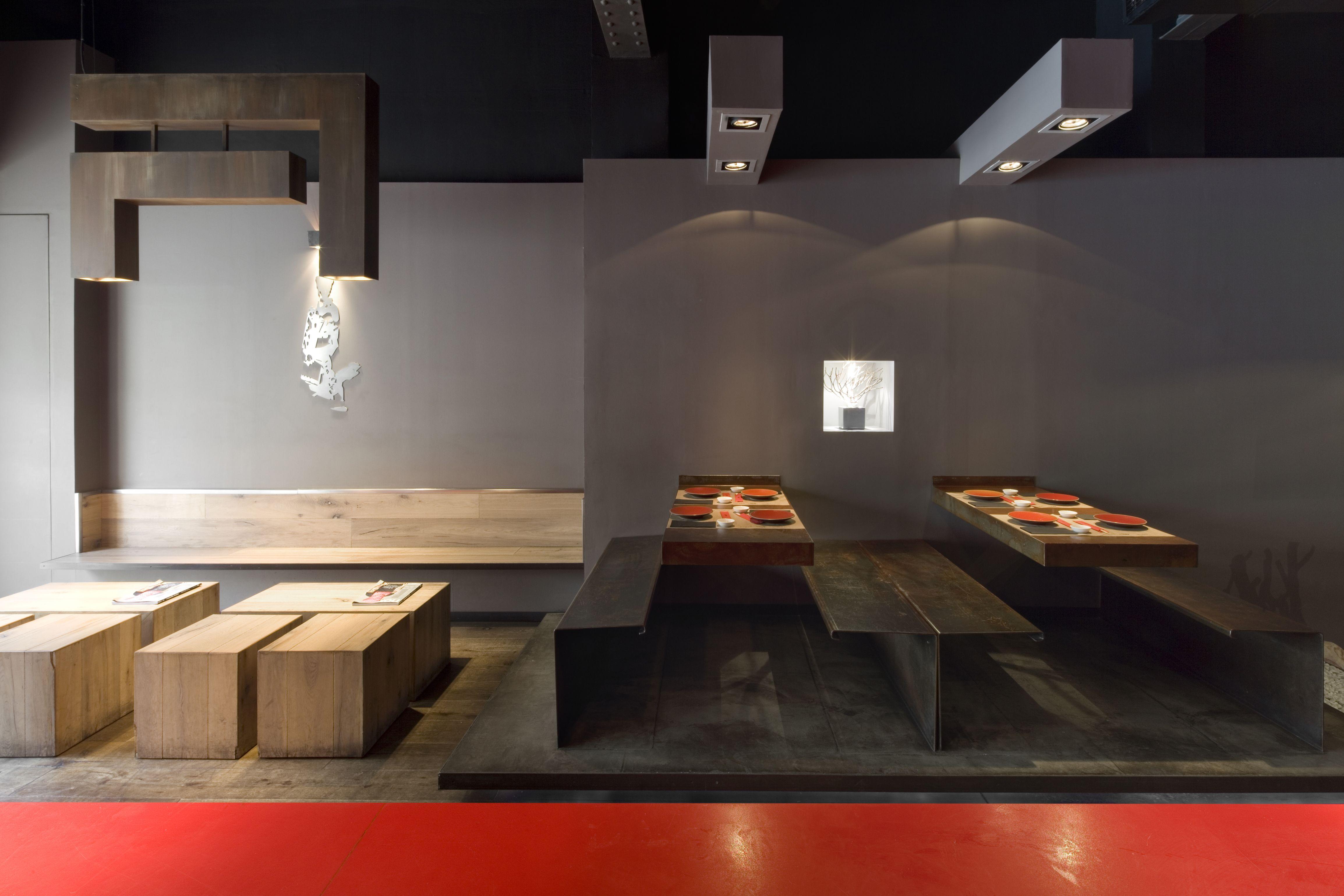 Restaurante Nomo By Estudijosepcortina Design Dise O  # Muebles Dettaglio Condesa