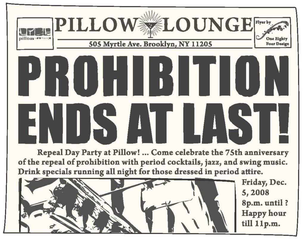 Essay on prohibition