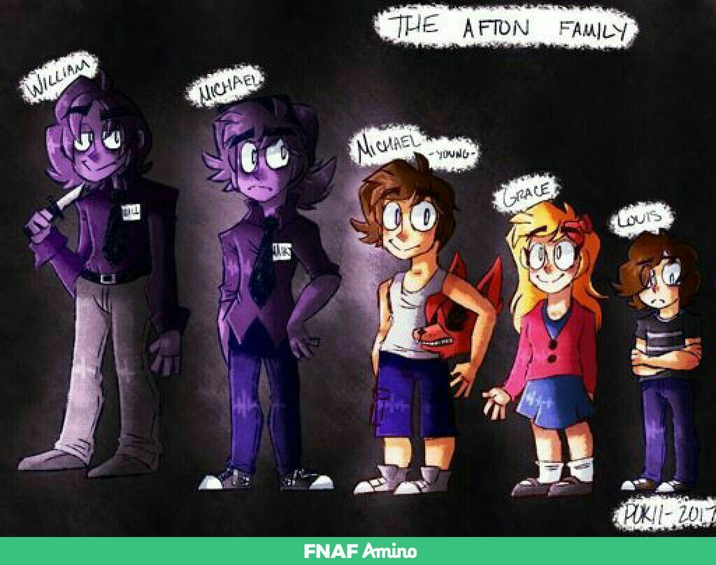 Grace Is Actually Elizabeth And We Have No Info On The Youngest Son Fnaf Comics Fnaf Characters Anime Fnaf