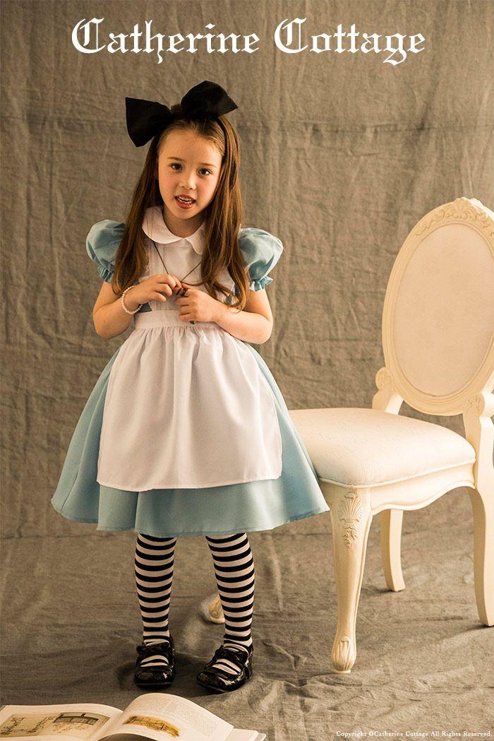 1d9f6bbc9970e  楽天市場 ハロウィン 子供用 コスプレ 衣装 アリス コスチュームセット ワンピース エプロン