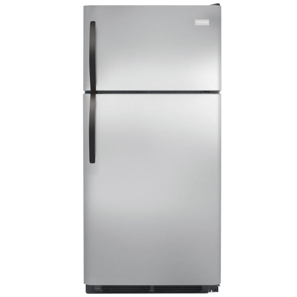 Frigidaire 15 cu ft top freezer refrigerator in