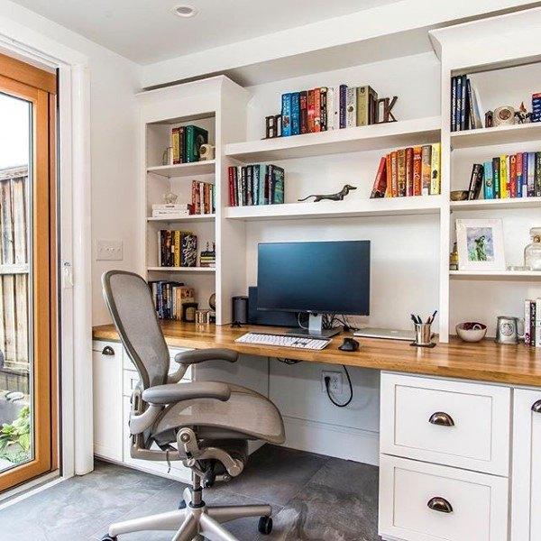 20 Diy Desks That Really Work For Your Home Office Tags Computer Desk Ideas For Bedroom Living Room Diy Na Bookshelves Diy Bookshelf Desk Diy Computer Desk