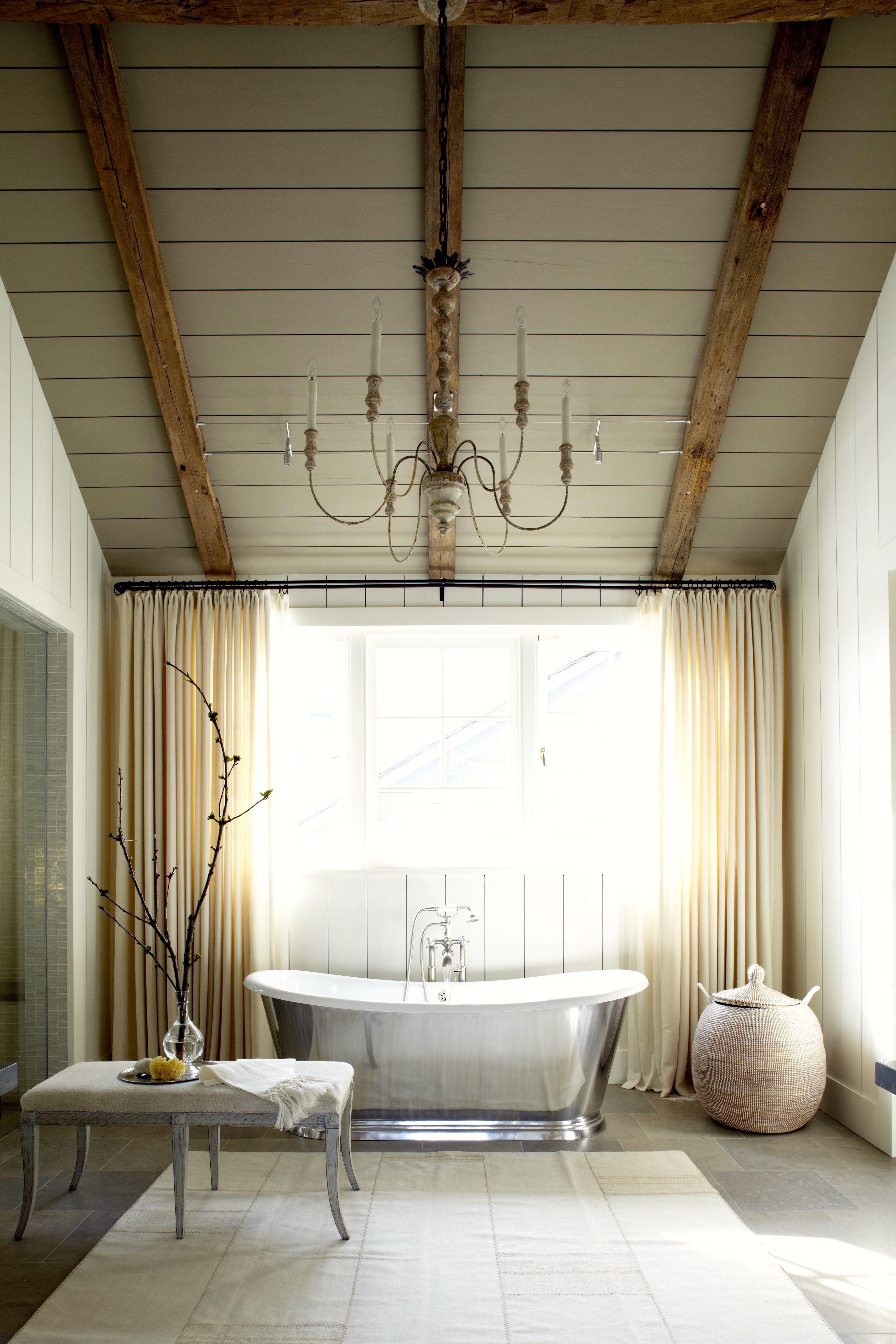 30 Rooms with Elegant Beamed Ceilings | Ceilings, Room and Beams