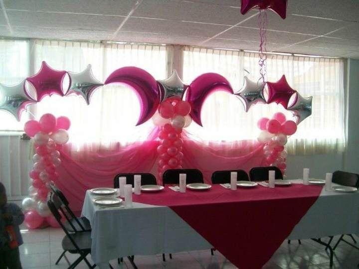 decoracin con globos para despedida de soltera