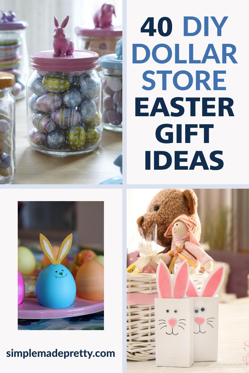 40 Diy Dollar Store Easter Gift Ideas Inexpensive Easter Basket Ideas Easter Basket Crafts Easter Basket Diy