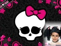 Foto efecto de Monster High.