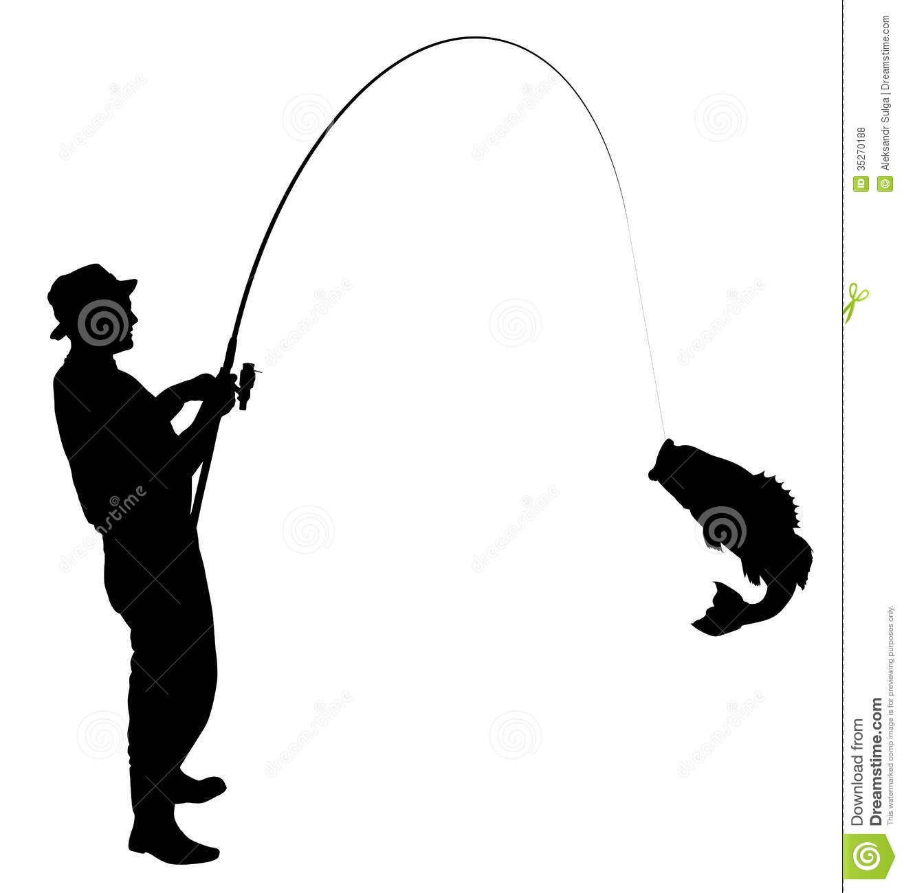 man fishing silhouette clipart panda free clipart images cakes
