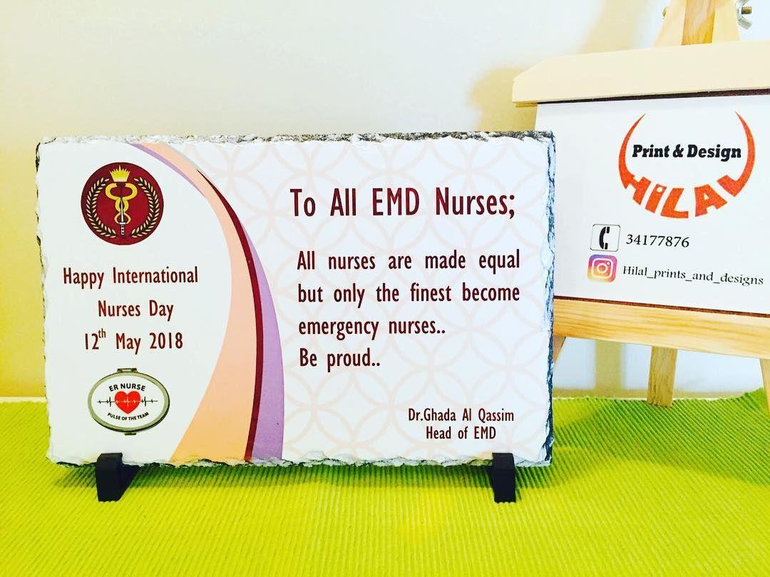 Print on stones Honoring the nurses of the emergency department at the BDF Hospital on the occasion of the International Day of Nursing 12May تكريم ممرضات قسم الطوارئ في المستشفى العسكري في اليوم العالمي للتمريض #اكواب #شناط #مكياج #مفارش #وساده #كوشن #اطفال #توازيع #اعياد_ميلاد #مناسبات #بحرين #Bahrain #Occasions #birthdaycelebration #birthdaythemes #mother_day #عيد_الام #print #newborn #gifts #هدايا_تخرج_زواج_ميلاد_ثيمات_خداديات_مجات_ميداليات_أكواب_تيشيرتات_محافظ #هدايا #مواليد #birthdaygift #prints #stone #nurse #nursingdays #يوم_التمريض_العالمي #bdf