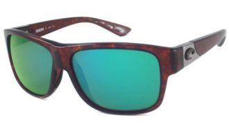 9d4f9eef20dc Costa Del Mar Sunglasses - Caye- Glass / Frame: Tortoise Lens: Polarized  Green Mirror 400 Glass Costa Del Mar