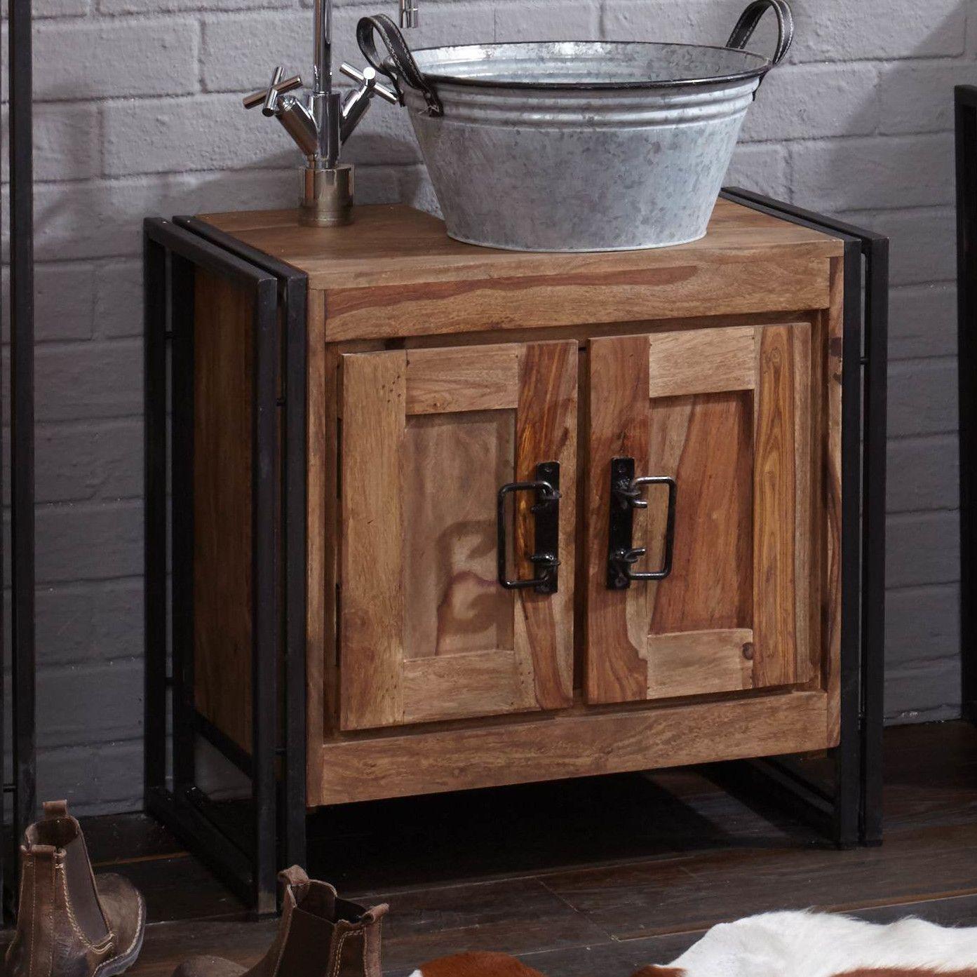Parrish 67cm Free-Standing Under Sink Storage Unit