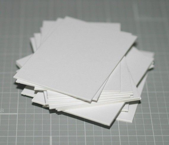Atc Aceo Blanks 100 Mat Board Art Cards Blank Cards Buffered Snow White Crescent Matboard Art Supplies Thick Cards Art Supply Cards Blank Cards Snow White Art