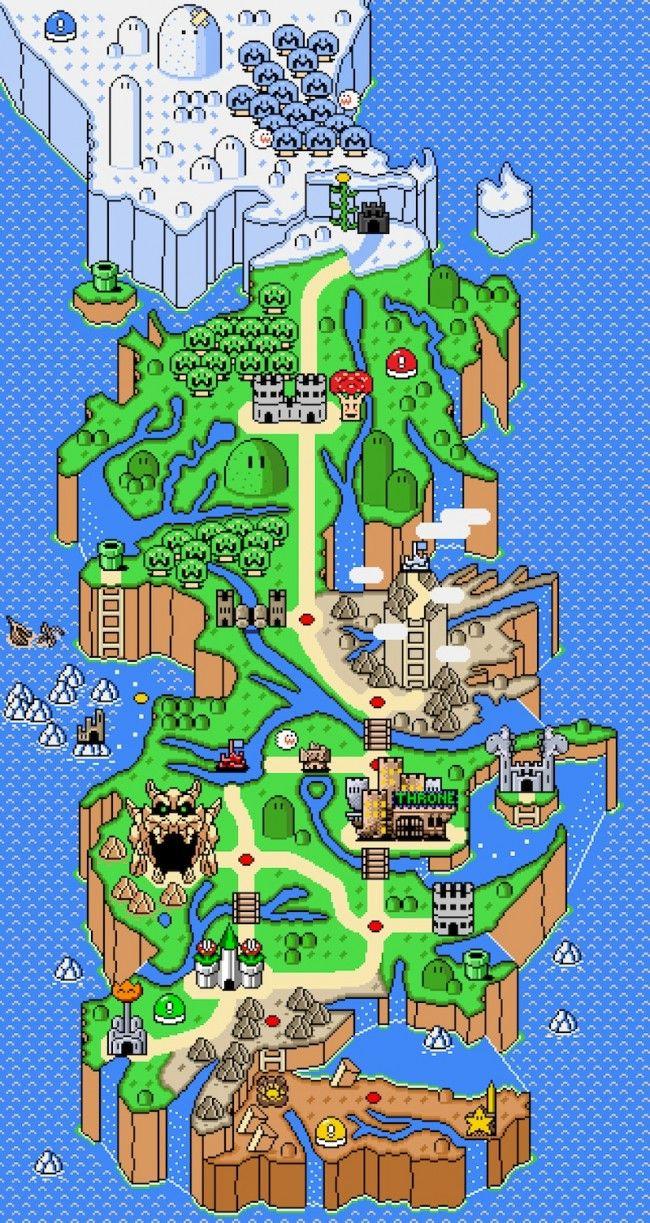 Nesteros Game Of Thrones Meets Super Mario In Epic Mushroom