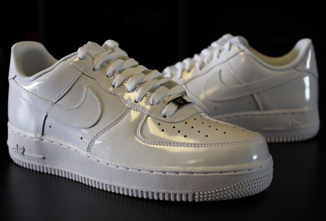 7fed889a63 Nike Air Force 1 Low – Triple White Patent