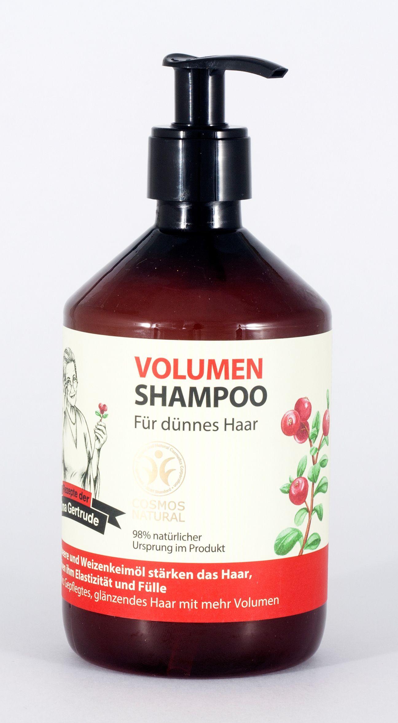 shampoo f r feines haar 500ml oma gertrude oma. Black Bedroom Furniture Sets. Home Design Ideas