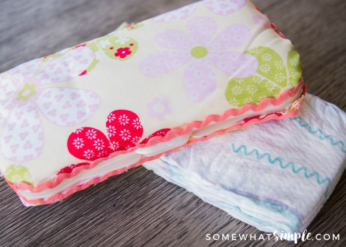 Covered Wipee Case – A Simple Craft Tutorial
