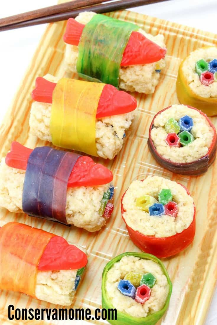 Candy Sushi recipe #candysushi