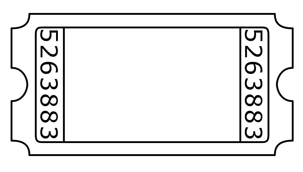 Blank Admission Ticket Template 4 Templates Example Templates Example Ticket Design Template Ticket Template Free Ticket Template