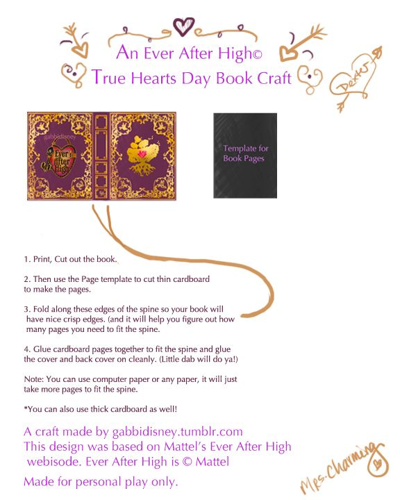 Ever After High Printables Raye Del Sol Ashlyn 9th bday Ever