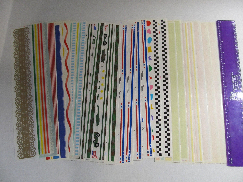 25 Mrs Grossman Grossman's Design Line Stickers Sheets25