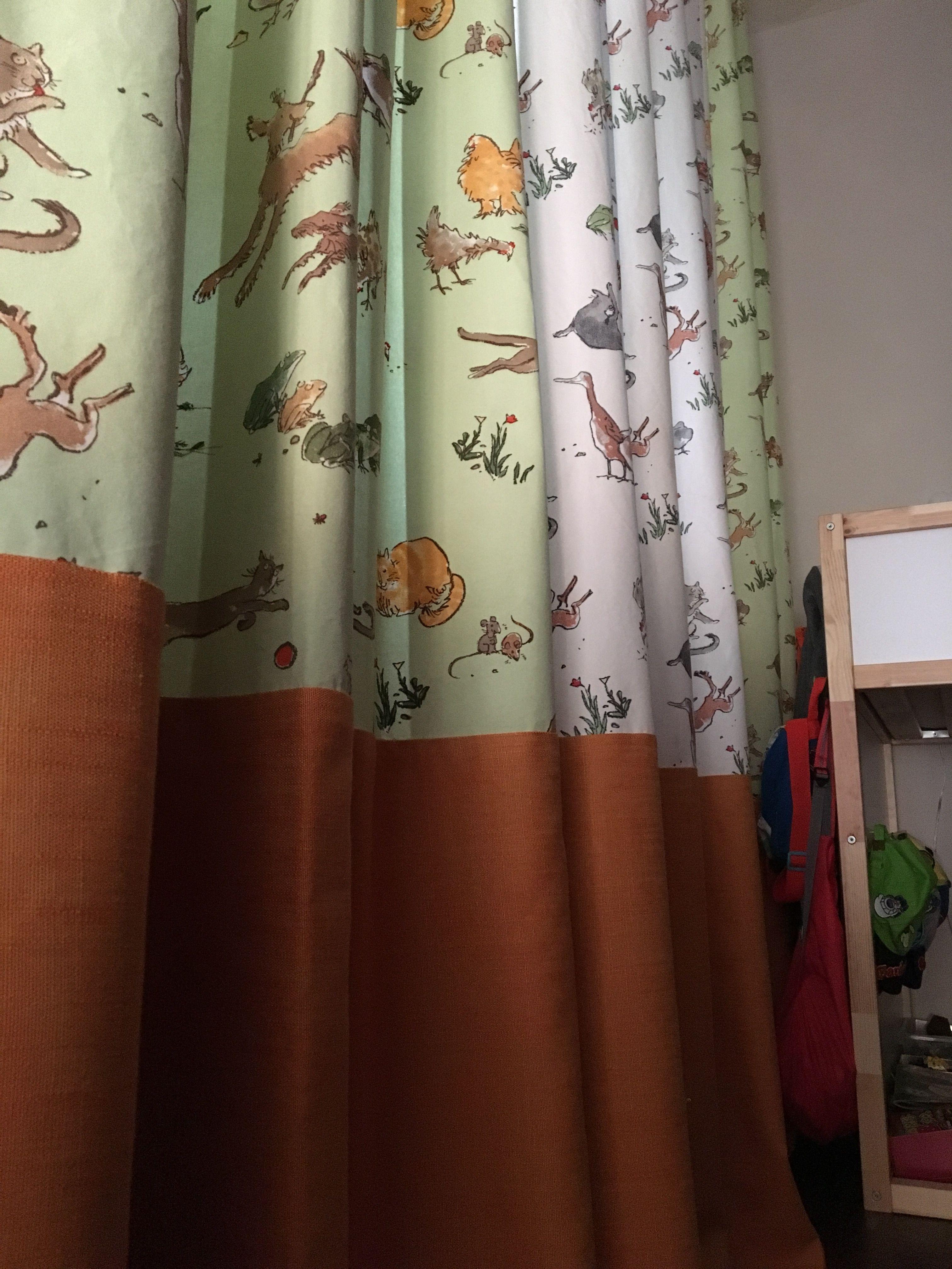 #kids #animal #curtains ....by #NIDOtorino #osborneandlittle  and #scion #fabrics